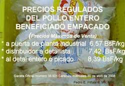 Pollo regulado 30-04-08